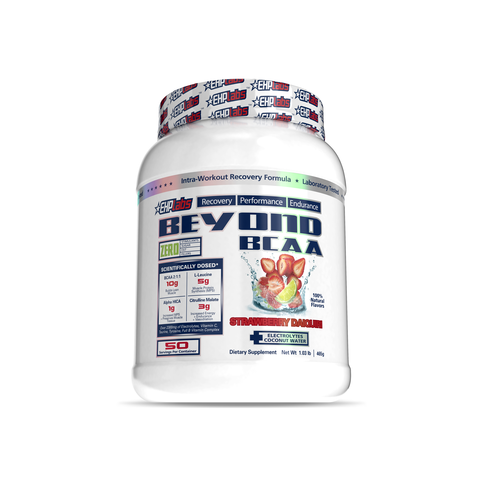 EHP Labs Beyond BCAA Strawberry Daiquiri 50 Serves Tub