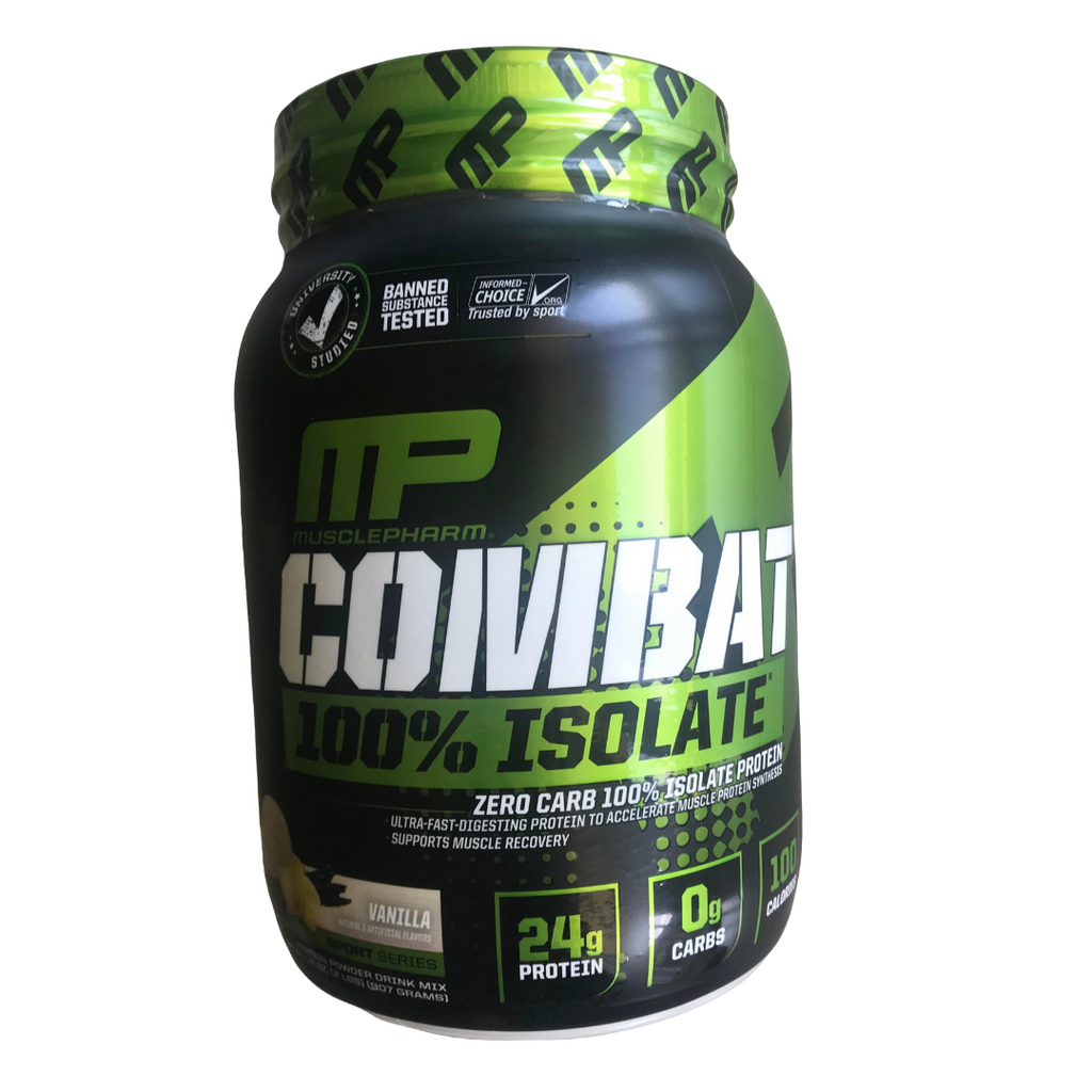 MUSCLEPHARM Combat Isolate VANILLA 33 Serves