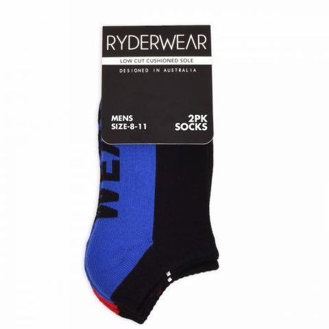 Ryderwear Mens Socks - 2 Pack