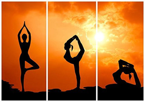 Yoga Girl Sport Indoor Wallpaper Photography Studio Backdrop Background