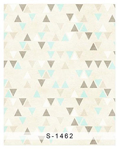 Gray Blue Triangle Photography Studio Backdrop Background