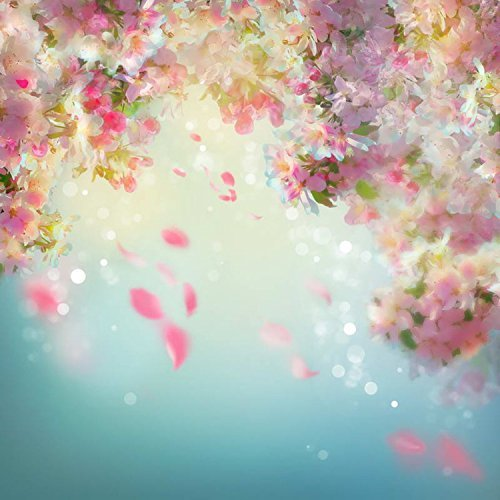 Abstract Pink Flowers Petal Photography Studio Backdrop Background