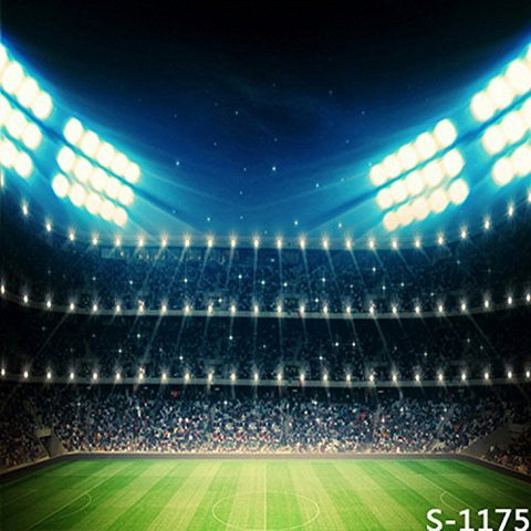 Soccer Football Field Pitch Light Photography Studio Backdrop Background