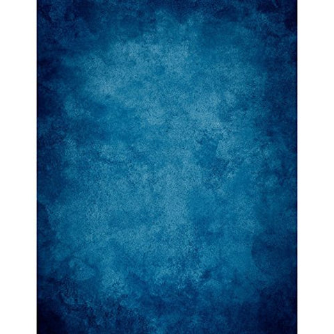 Old Master Solid Blue Portrait Photography Studio Backdrop Background