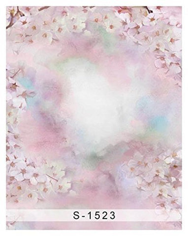 Spring Pink Sakura Photography Studio Backdrop Background