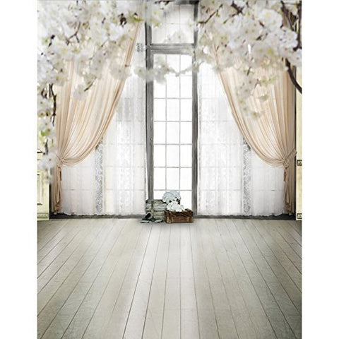 Wedding Atmosphere White Curtain Romance Photography Studio Backdrop Background