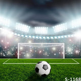 Soccer Football Green Field Pitch Photography Studio Backdrop Background