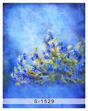 Wild Blue Scene Glass Photography Studio Backdrop Background