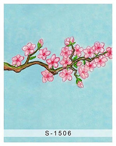 Sole Plum Blossom Wintersweet Photography Studio Backdrop Background