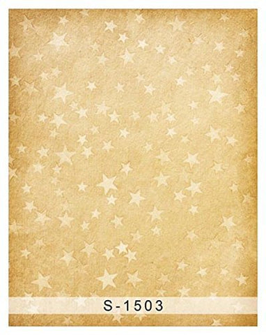 Gold Star Wall Photography Studio Backdrop Background