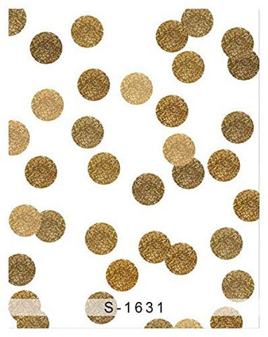 Gold Dots Ball Photography Studio Backdrop Background