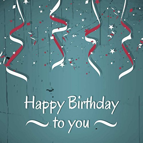 Birthday Celebration Stripes Photography Studio Backdrop Background