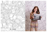 Gray Study Stationery Back to School Photography Studio Backdrop Background