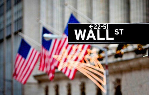 Wall Street Flags Photography Studio Backdrop Background