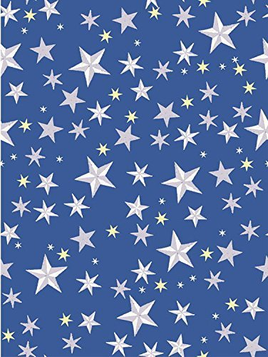 Patriotic Blue Stars Photography Studio Backdrop Background