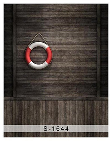 Swimring Wood Floor Photography Studio Backdrop Background