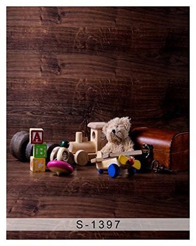 Wood Bear Toys Photography Studio Backdrop Background