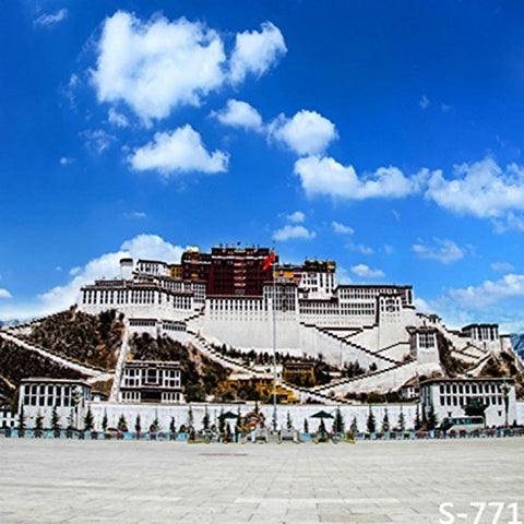 Tibet Potala Palace Photography Studio Backdrop Background