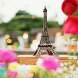 Small Paris Eiffel Tower Model Photography Studio Backdrop Background