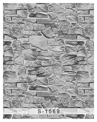 Gray Brick Wall Photography Studio Backdrop Background