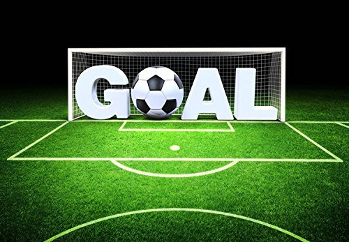 Football Goal Field Photography Studio Backdrop Background