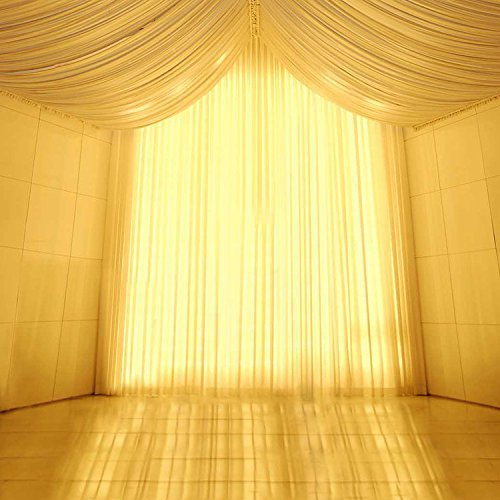 Wedding Yellow Light Tent Curtain Photography Studio Backdrop Background