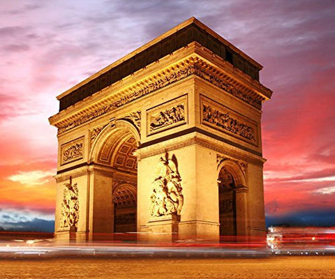 France Paris Triumphal Arch Photography Studio Backdrop Background