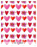 Big Small Red Love Heart Photography Studio Backdrop Background