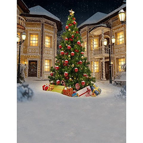 Christmas Xmas Christmas Tree Winter Photography Studio Backdrop Background