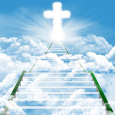 Christan Jesus Cross Heaven Photography Studio Backdrop Background