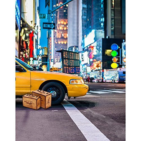 Taxi New York City Street Photography Studio Backdrop Background