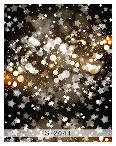 Dark Glitter Starry Dots Photography Studio Backdrop Background