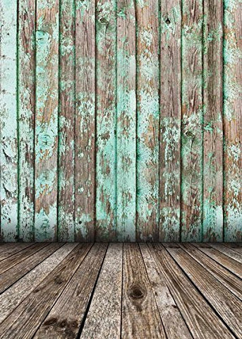 Retro Effect Wood Floor Wall Photography Studio Backdrop Prop Background