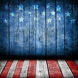 Patriotic July 4 US National Stars and Stripes Flag Independence Day Photography Studio Backdrop Prop Background
