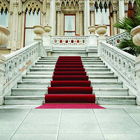 Wedding F Red Carpet Stage Stairs Photography Studio Backdrop Background