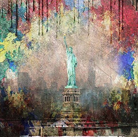 New York Statue of Liberty Photography Studio Backdrop Background