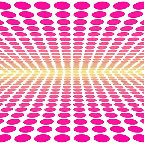 3D Ellipse Oval Pink Dots Photography Studio Backdrop Background