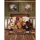 Teddy Bear Toy Boot Warm Photography Studio Backdrop Background