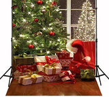 Christmas Xmas Tree Gifts Photography Studio Backdrop Prop Background