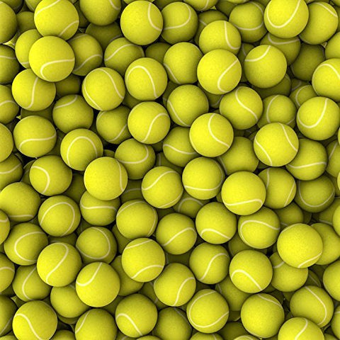 Yellow Tennis Balls Photography Studio Backdrop Background
