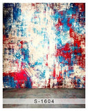 Abstract Graffiti Scrawl Colorful Wall Photography Studio Backdrop Background