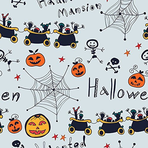 Cartoon Halloween Pumpkin Photography Studio Backdrop Background