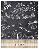 Back to School Chalkboard Blackboard Photography Studio Backdrop Background
