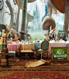 Fairy Tale Alice Wonderland Rabbit Forest Backdrop Photography Studio Background