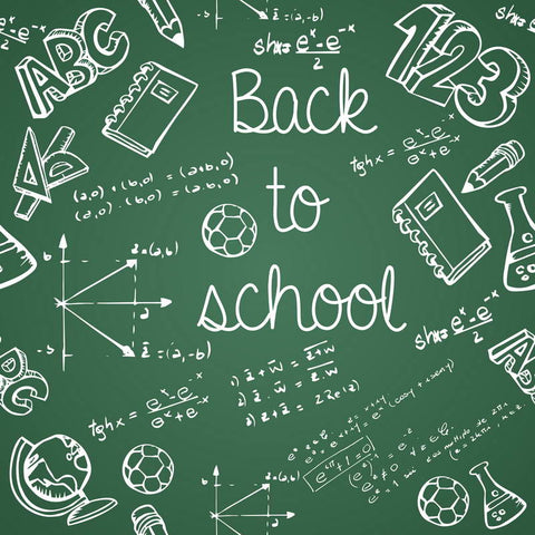 Blackboard Chalkboard Back To School Backdrop For Kids Children Photo Studio Background