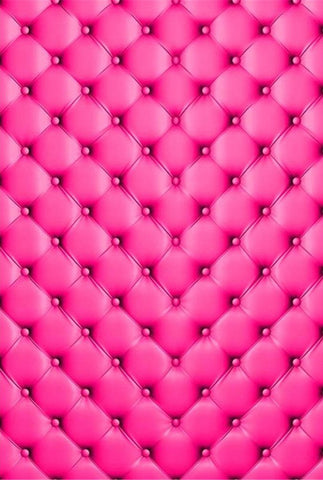 Pink Headboard Bed Princess Newborn Kids Backdrop Photography Props Studio Background