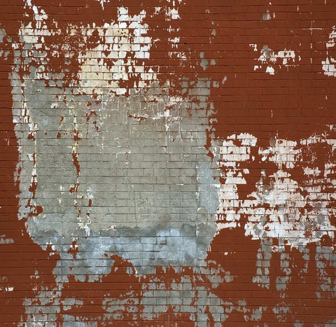 Old Broken Red Graffiti Gray Brick Wall Backdrop Photography Studio Background