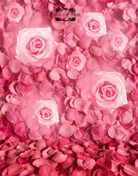 Pink Rose Flower Valentine Backdrop Photography Studio Background