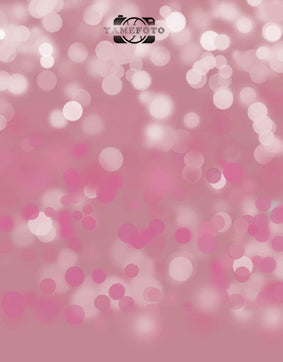 Dreamlike Pink Dots Bokeh Backdrop Photography Studio Background