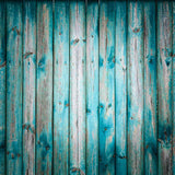 Blue Plank Board Wood Floor Newborns Kids Backdrop Photo Studio Background